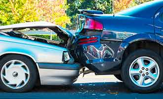 car accident caused by speeding