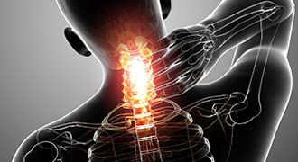 neck injury caused by a Coventry Car Accident and injured driver needing a Coventry Car Accident lawyer