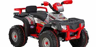 Peg-Perego ride-on vehicle