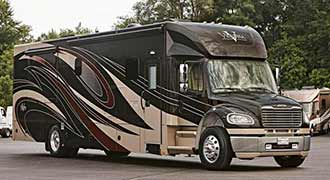 REV motor coaches and motorhome