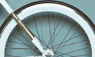 Electric bicycle conversion wheel